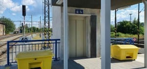 Výtah na Brno Dolní nádraží