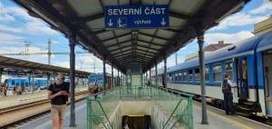 2.nástupiště České Budějovice