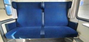 Sedadla vozu 249 B