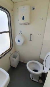Ve vlaku na záchod B 249
