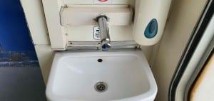 Záchod vozu B 249