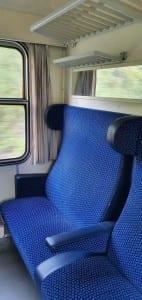 Sedadla vozu B 249