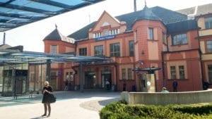 nádraží v České Třebové