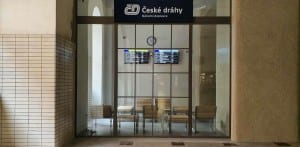 Čekárna v Praze na Masarykově nádraží