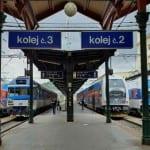 Train station Praha Masarykovo nadrazi