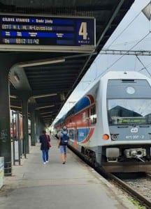 Train station Praha Masarykovo nádraží