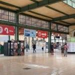 Hala Masarykova nádraží v Praze