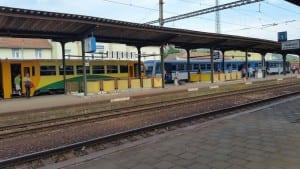 2.nástupiště v Tišnově