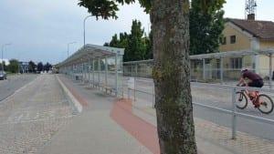 Autobusové nádraží v Tišnově