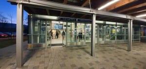 Odbavovací hala nádraží Ústí nad Orlici