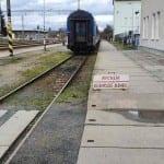 Vyškov na Moravě, nástupiště u 1.koleje
