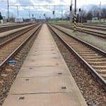 Train station Vyskov na Moravě, platforms