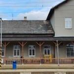 Train station Vyškov na Moravě.