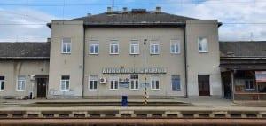 Vyškov na Moravě train station