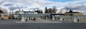 Autobusové nádraží ve Vyškově na Moravě