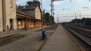 Vyškov na Moravě - nástupiště