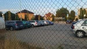 Vyškov na Moravě - parkoviště