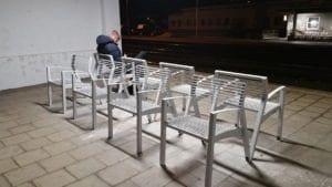Sezení v Židenicích