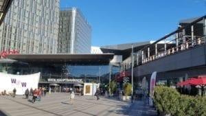 Vídeň hlavní nádraží
