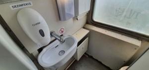 Záchod ve vlaku Pantograf 060