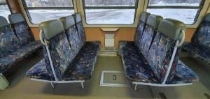 Sedadla vozu 809