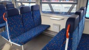 Vůz 810 sedadla