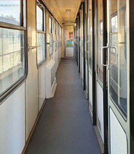 Chodba vozu Bd 264