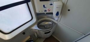 Záchod ve voze Bdtee 276