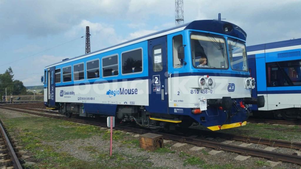 Motorový vůz RegioMouse 810
