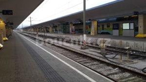 Nástupiště na nádraží Vídeň západní nádraží