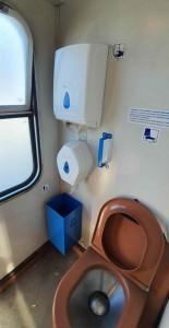 WC ve vlaku 281 Bdmtee