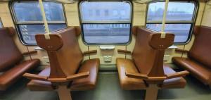 Sedadla u vozu Bdmtee 281