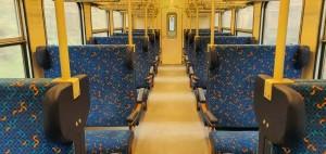 Popis sedadel vozu Bdmtee 281
