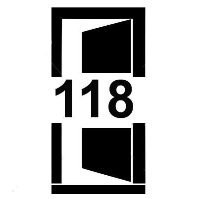 Dveře šířky 118 cm