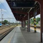 Kolín nástupiště