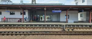 1.nástupiště v Kolíně