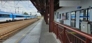 Popis nádraží v Kolíně