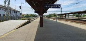 Kolínské nástupiště 1A