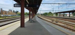 V Kolíně na nádraží