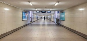 Kolín podchod pod nádražím