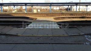 1.nástupiště v Nymburku