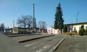 Nymburk autobusové nádraží
