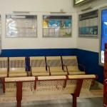 Nymburk nádraží čekárna