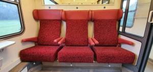 Sedadla vozu A 149