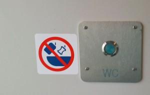 Záchod ve voze Bmz 229