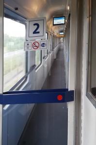 Chodba vozu Bmz 229