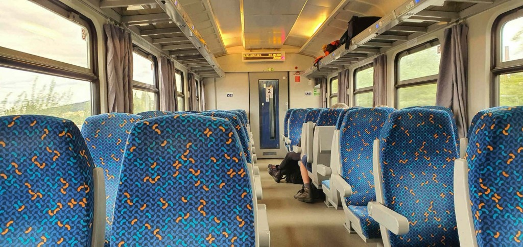 Ulička vozu Bpee 237