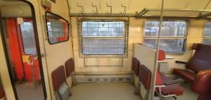 Kolo ve vlaku Pantograf 063