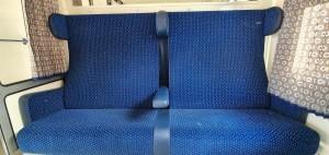 Sedadla vozu BDs 449