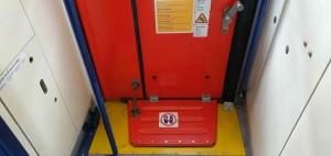 Dveře vozu BDs 449